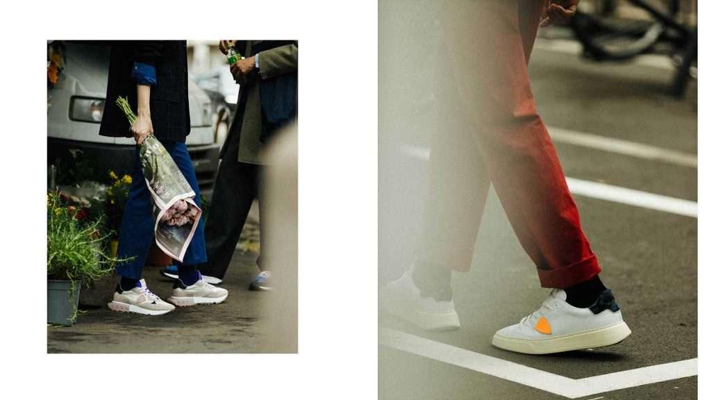 Come calzano e come si puliscono le calzature Philippe Model